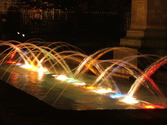 York lights (grahamwilletts) Tags: york light colour water fountain yorkshire great best colourful fountains feature