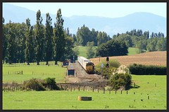 another one coming... (SemmyTrailer) Tags: ge dx kiwi rail kereone waikato