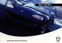 Mazda MX-5 Genuine Accessories; 2001  (Australia) (World Travel Library) Tags: world auto 2001 travel blue cars car japan ads japanese drive photo words model automobile image photos library text wheels transport models picture australia automotive center literature photograph papers vehicle motor accessories makes collectible collectors mazda sales brochures catalogue cabrio  catlogo automobiles documents mx5 fahrzeug genuine frontcover motoring wagen folleto automobil  folheto prospekt dokument katalog  esite ti liu worldcars bror broschyr    worldtravellib