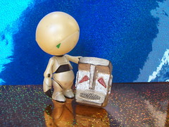 Alas, poor Marvin. (John Chanaud) Tags: thehitchhikersguidetothegalaxy marvintheparanoidandroid