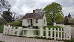 Herbert Hoover's birthplace cottage in West Branch, Iowa