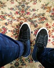 All About Tea carpet (Claire_Sambrook) Tags: carpet lookdown vans allabouttea