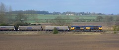 66743 with West Burton - Doncaster [2 of 3] (parkgateparker) Tags: gbrf 66743 northanston southyorkshirejoint syjnt
