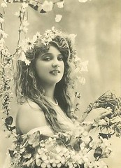 Woman with flowers and bird nest (England/France - early 1900s) [400x555] #HistoryPorn #history #retro http://ift.tt/26gK2ng (Histolines) Tags: flowers woman bird history early with nest retro timeline 1900s vinatage englandfrance historyporn histolines 400x555 httpifttt26gk2ng