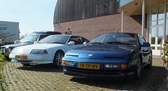 1986 Renault-Alpine V6 GT & 1992 Renault-Alpine A610 Turbo (peterolthof) Tags: v6 renaultalpine a610 70tphv 26032016 klassiekerbeursdrachten thtz08