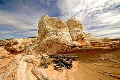 White Pocket (BDFri2012) Tags: arizona clouds landscape desert sandstonecliffs vermillion rockformation americansouthwest desertsouthwest southwestunitedstates vermillioncliffsnationalmonument whitepocket