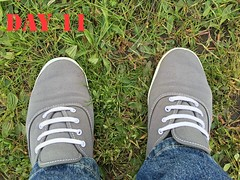 DAY 11 #keds (slo.jean) Tags: new old wet hole used worn torn trashed keds