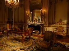 New York. French salon in the Metropolitan Museum of Art. (denisbin) Tags: newyork art museum french gold fireplace salon marble decor metropolitan metropolitanmuseumofart louisxiv frenchslaon
