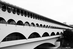 So Long Frank Lloyd Wright (Thomas Hawk) Tags: california bw usa architecture unitedstates marin unitedstatesofamerica franklloydwright marincounty sanrafael northbay marinciviccenter fav10