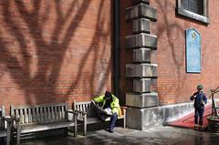 DSCF4113_small_F (Paul Russell99) Tags: boy shadow tree london church garden reading