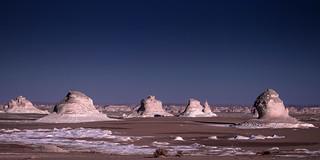 White desert at dawn, Egypt