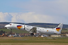 West Atlantic BAe ATP SE-MHI at Isle of Man EGNS 27/04/16 (IOM Aviation Photography) Tags: man west atp atlantic bae isle egns 270416 semhi