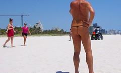 back multi exhibitor mb (bmicro2000) Tags: man male beach bikini tiny gstring torpedo bulge manthong minimalswimwear microkini microbeachwear