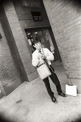 AA004 2 (heavyasmountains) Tags: nyc newyorkcity blackandwhite slr film 35mm photography nikon candid streetphotography noflash 24mm fm3a filmphotography streetstyle