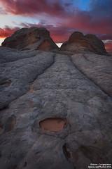 Mounds (Aron Cooperman) Tags: sunset arizona usa nature landscape rocks desert outdoor vermillioncliffs wbpa whitepocket nikond800 aroncooperman openlightphoto april2016 escaype