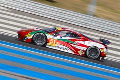 Ferrari F458 Italia AF Corse - LMGTE - 4h du Catellet (YackNonch) Tags: france car race canon eos italia ferrari voiture racing course 7d ef championnat castellet 458 lieu paulricard apsc f458 afcorse canoneos7d circuitpaulricard lmgte 4hducastellet2015