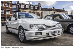 Ford Sierra Sapphire (Paul Simpson Photography) Tags: classic car classiccar 4x4 carshow tyres scunthorpe carphotos churchsquare photosof imageof photoof imagesof fordsierrasapphire forduk sonya77 paulsimpsonphotography april2016