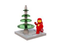 Nadolig Lawen o Llwyngwril Systems (David Roberts 01341) Tags: lego christmastree ldd classicspace bluerender