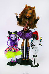 big girl X) (T.Joe) Tags: monster spider high wolf cheshire kitty after winona ever clawdeen