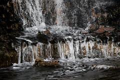 Because .. Waterfall ! (NoBi CooL) Tags: mountain water night waterfall rocks time artificial falling medina saudiarabia ksa madinah   mountuhud almadnahalmunawwarah