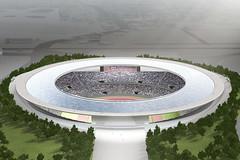 Stadium in Tokyo by Kengo Kuma