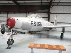 "Republic F-84 Thunderjet 2 • <a style=""font-size:0.8em;"" href=""http://www.flickr.com/photos/81723459@N04/24122733073/"" target=""_blank"">View on Flickr</a>"