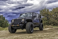 Stormy Jeep (MikeRicciPhoto) Tags: road storm weather clouds colorado jeep 4x4 sony stormy off explore a7 wrangler turo mikericciphoto