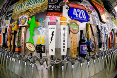 On Tap (Sean Davis) Tags: beer d memphis fisheye wiseacre tap kegs schlafly abita dogfishhead sweetwaterbrewingco cashsaver gottagetuptogetdown