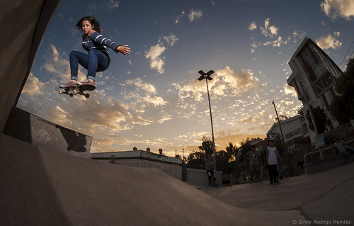 Javiera Arriagada - Ollie Gap Roll-In