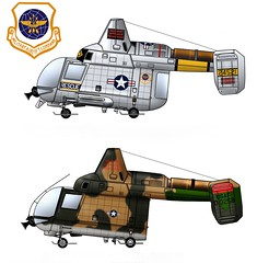 HH-43F Huskie (Ricos 2015) Tags: airplane military helicopters kaman huskie h43