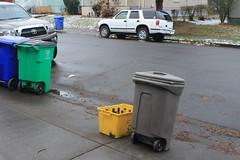 refuse setout (Scott (tm242)) Tags: trash dumpster truck garbage side debris rear disposal front bin collection rubbish trucks fl waste refuse recycle loader removal recycling load hopper collect packer rl haul asl msl