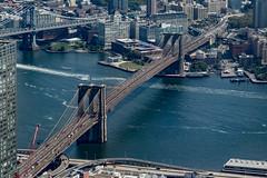 Brooklyn Bridge (Bob90901) Tags: city newyorkcity bridge summer newyork brooklyn canon afternoon manhattan september brooklynbridge eastriver 6d 2015 canonef24105mmf4lisusm oneworldtradecenter