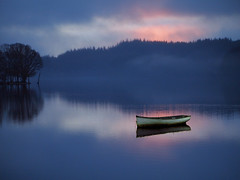 Out of the gloaming (kenny barker) Tags: scotland trossachs lochard