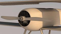 SPADXIII-WIP 16 (StratoArt) Tags: history 3d aircraft aviation military wwi cinema4d warbird biplane warplane spad xiii