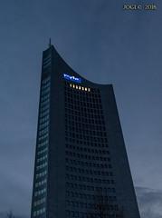 Leipzig, City-Hochhaus aka Uniriese aka Weisheitszahn (joergpeterjunk) Tags: leipzig uniriese cityhochhaus weisheitszahn