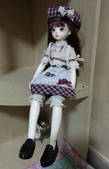 Stirling: Mori Retro Fullset-Aria (almyki) Tags: set ball asian doll body may jr tiny junior bjd tall 16 mori bf abjd joint aria bluefairy yosd as angellstudio