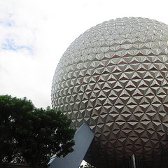 One of our favourite sights!  #epcot #spaceshipearth #wdw... (Disney Cakes) Tags: world birthday castle cakes make cake frozen baking orlando princess disney mickey fl how minnie wdw pops walt