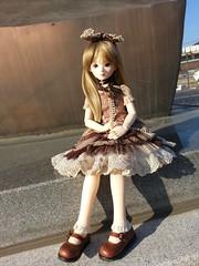 Taylor Enjoying Gimcheon (almyki) Tags: boy ball asian outside outdoors doll 14 mini fairy tiny bjd emilie bf abjd joint msd tf bluefairy