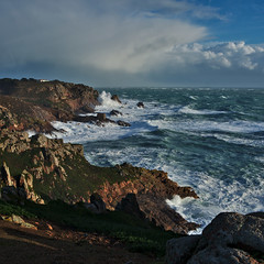 South coast storm (pa.herbert) Tags: sea waves jersey channelislands corbiere