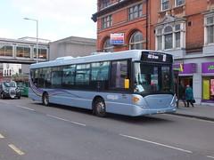 Nottingham City 304 Parliament Street (Guy Arab UF) Tags: street city nottingham bus buses transport parliament municipal scania 304 omnicity k270ub yn57fyv