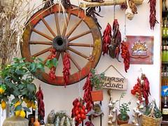 Aeolian deli (vittorio vida) Tags: red italy food wall islands europe mediterranean deli sicily delicacies eolie delicatessen lipari aeolian