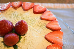 Strawberry Cake (anhthyho) Tags: green cake japanese strawberry tea cream goods sweets layer matcha baked whipped