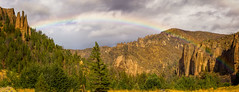 RainbowRidge (slarsen327) Tags: mountain storm weather landscape rainbow outdoor wyoming mountainrange mountainridge