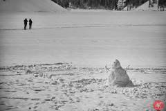 Scenes from Lake Louise 2 (Kasia Sokulska (KasiaBasic)) Tags: travel winter people lake snow canada mountains rockies frozen tourists alberta lakelouise banffnationalpark