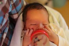 (comolebi*) Tags: baby milk