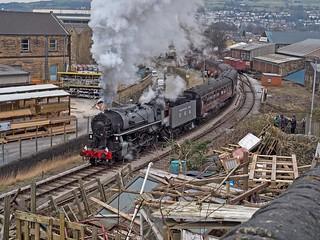 Keighley ansd Worth Valley Railway Winter Steam Gala