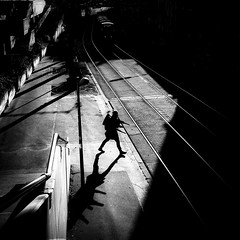 Nomad (tomabenz) Tags: vienna wien street shadow blackandwhite bw white black monochrome out photography noiretblanc sony streetphotography vienne streetview urbanexplorer sonya7rm2 a7rm2