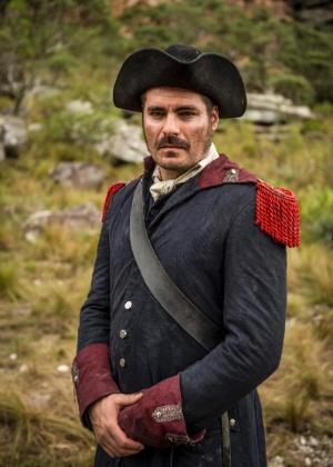 Thiago Lacerda vira Tiradentes em nova novela da Globo; veja primeira foto