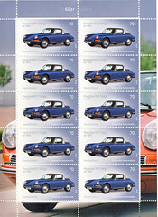 Porsche 911 Targa (postcardlady1) Tags: stamps briefmarken