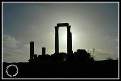 # # #_ #__ # #_ # # # # #Jordan #amman #jabal_alqal'a #jabal_al_qal'a #amman_citadel #temple_of_hercules #amman_citadel_ruins #photography #myphoto  #HKJ #silhouettes (alrayes1977) Tags: photography amman silhouettes jordan myphoto hkj    ammancitadel   templeofhercules    jabalalqal ammancitadelruins